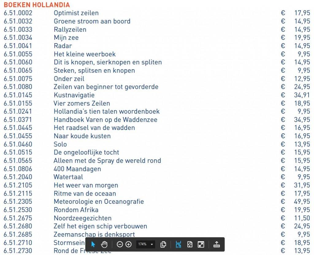 Boeken Hollandia - 1